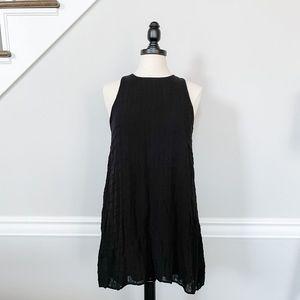 Final Touch Black Swing Dress